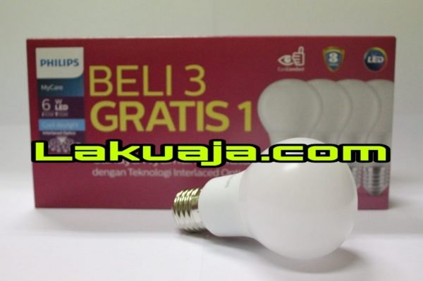 lampu-philips-led-bulb-pack-6w
